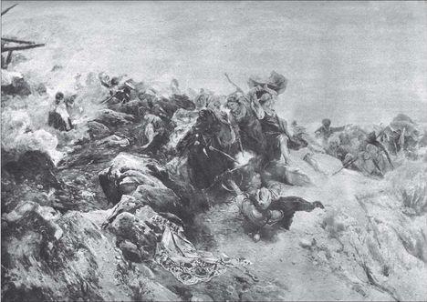 Осада селения Хунзах