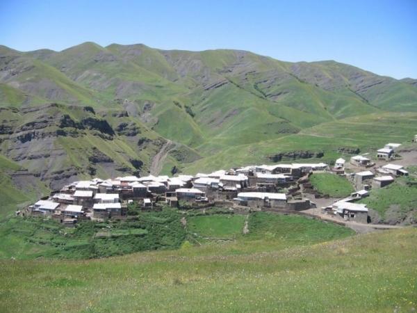 Агульский район. Село Буршаг